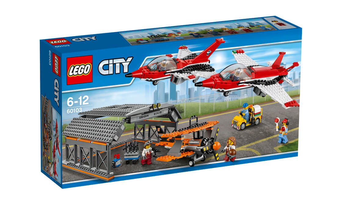 LEGO City Авіашоу в аеропорту (60103)