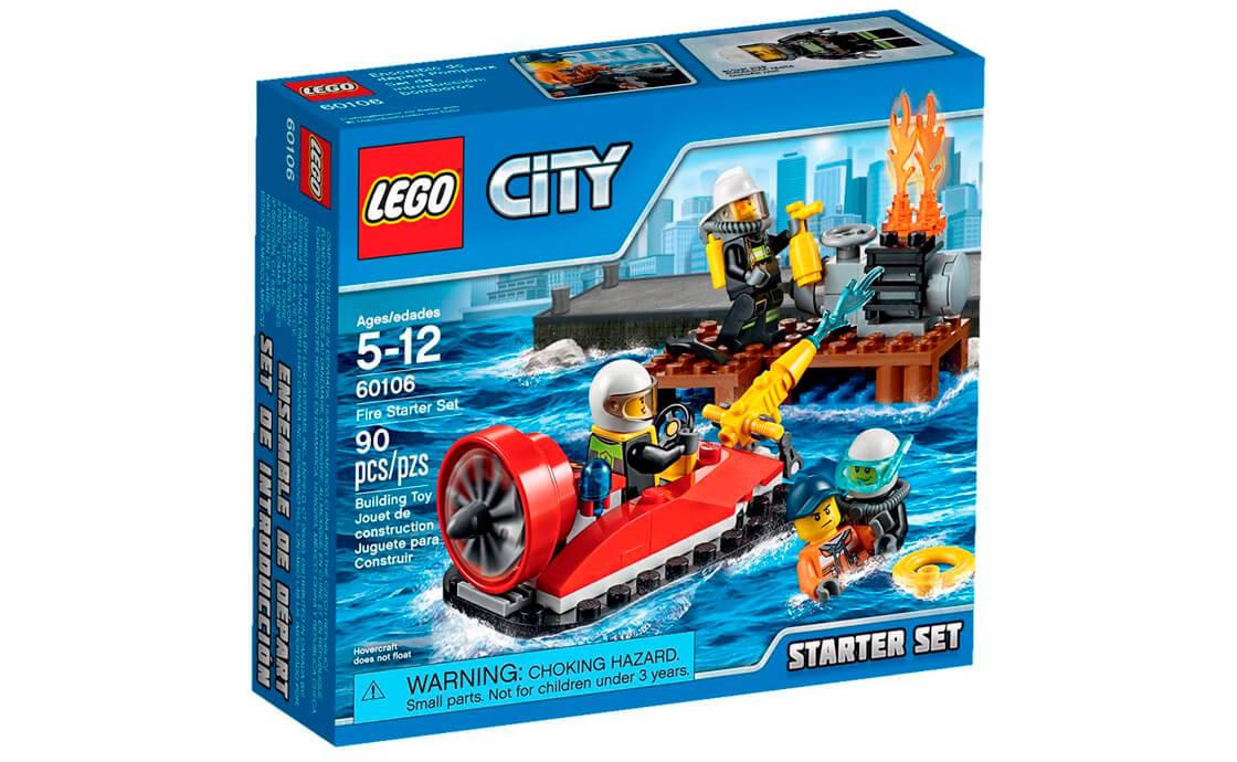 """LEGO City Набір для початківців """"Пожежна охорона"""" (60106)"""