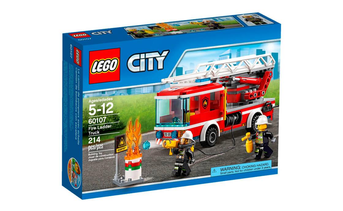 LEGO City Пожежний автомобіль зі сходами (60107)