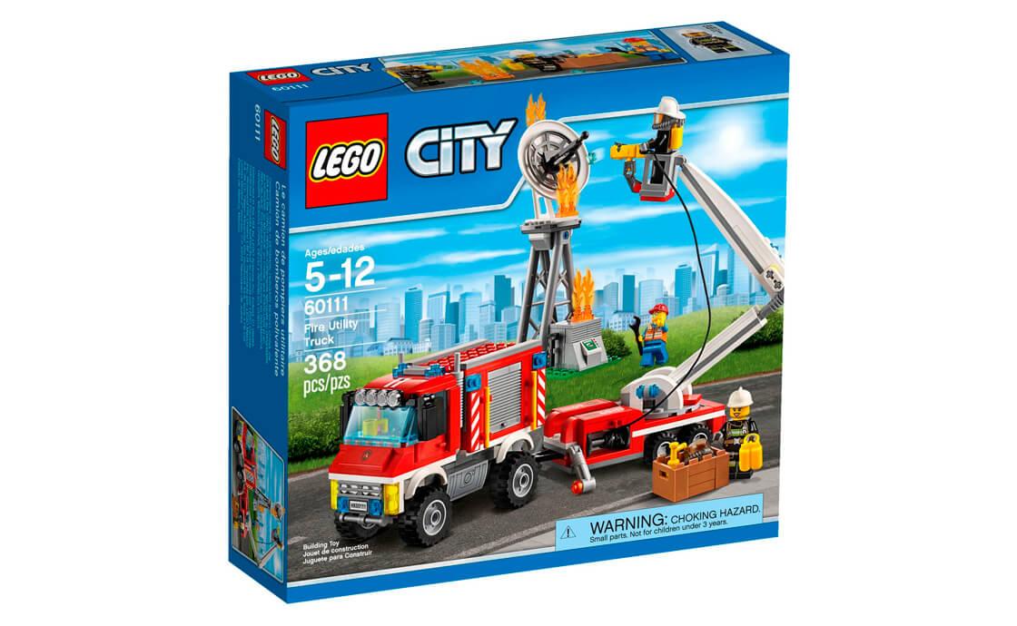 LEGO City Пожежна вантажівка (60111)