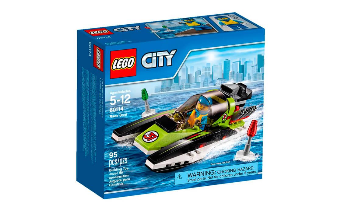 LEGO City Гоночний катер (60114)