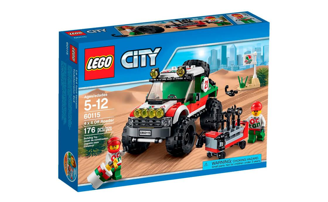 LEGO City Позашляховик 4x4 (60115)