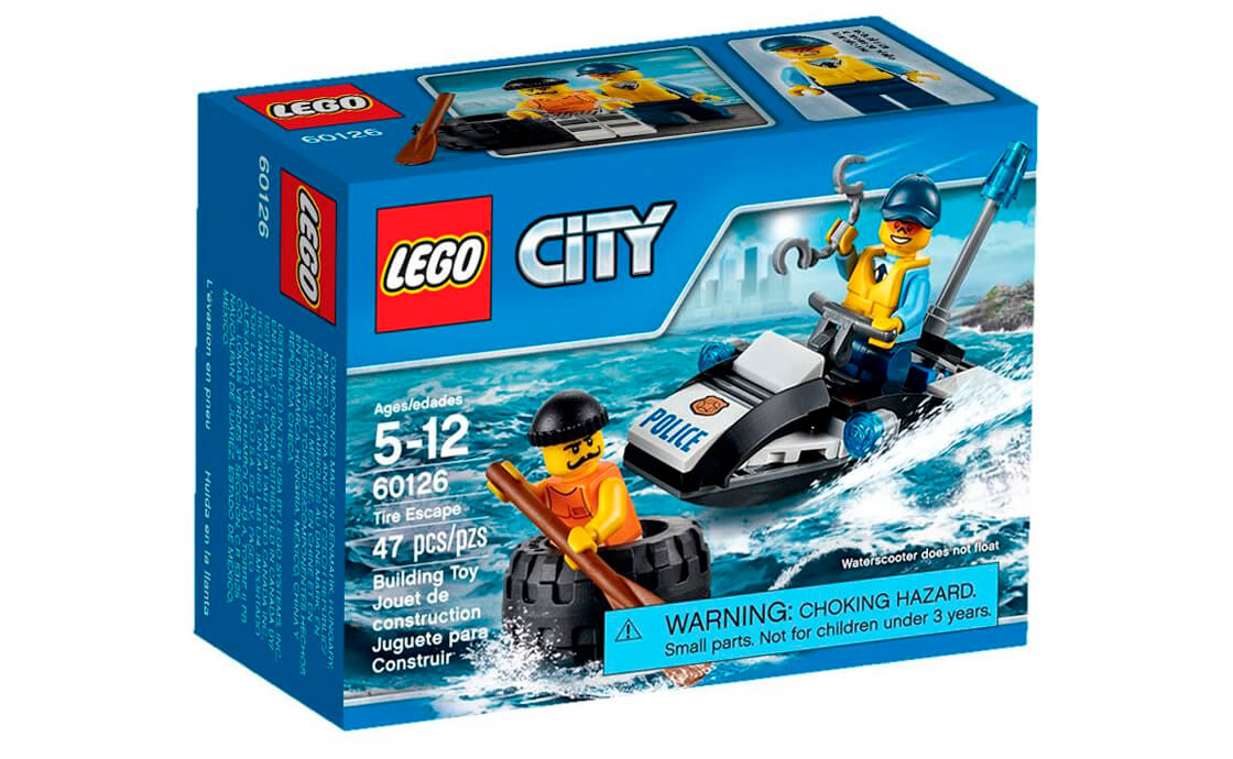 LEGO City Втеча в шині (60126)