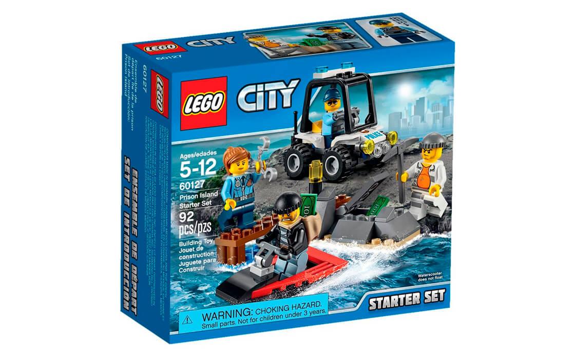 LEGO City Набір для початківців «Острів-в'язниця» (60127)