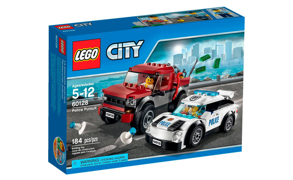 LEGO City Поліцейська гонитва (60128)