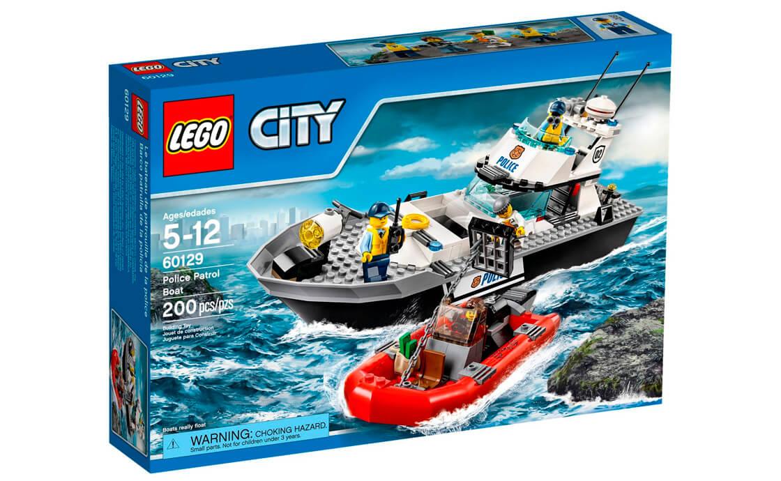 LEGO City Поліцейський патрульний катер (60129)