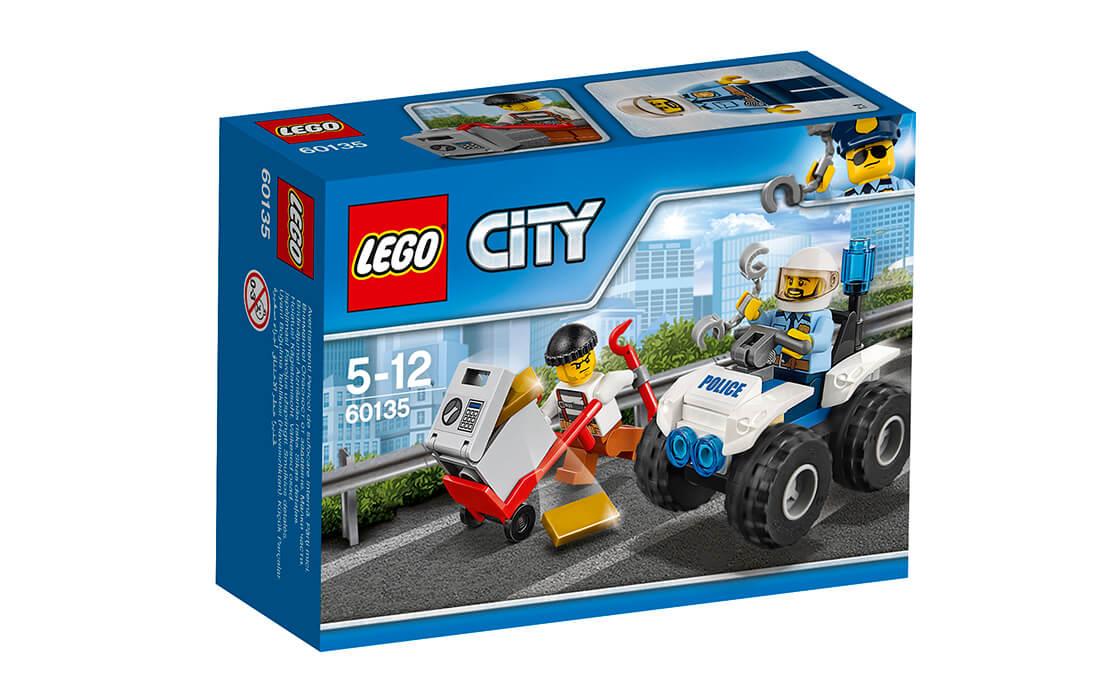 LEGO City Поліцейський квадроцикл (60135)