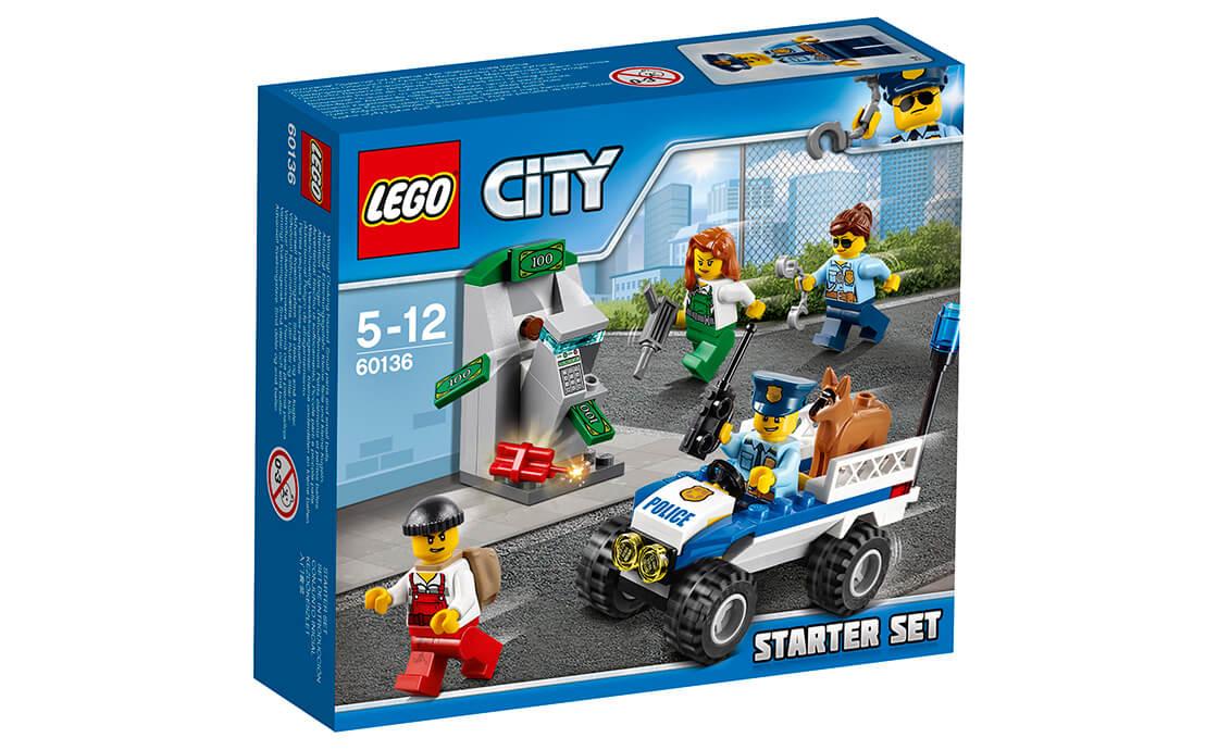 LEGO City Набір для початківців «Поліція» (60136)