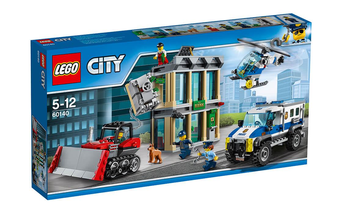 LEGO City Пограбування на бульдозері (60140)