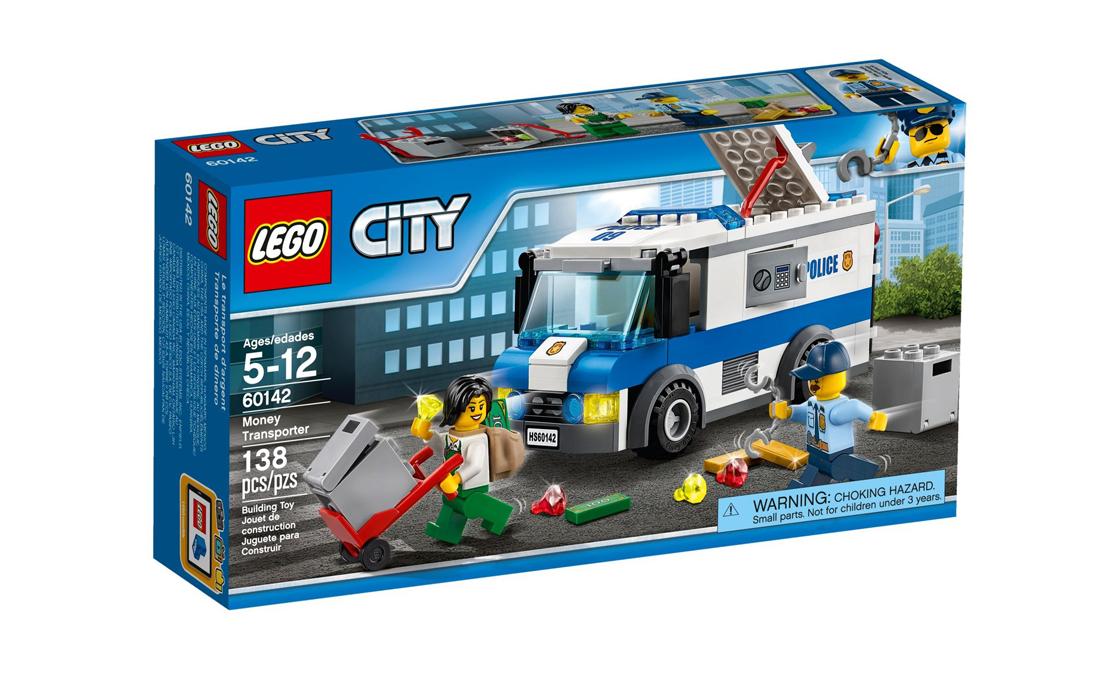 LEGO City Перевізник грошей (60142)