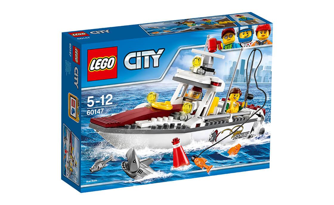 LEGO City LEGO City Рибальський катер (60147)