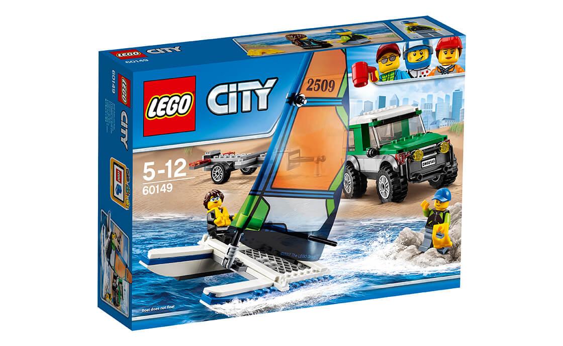 LEGO City Позашляховик з причепом для катамарана (60149)