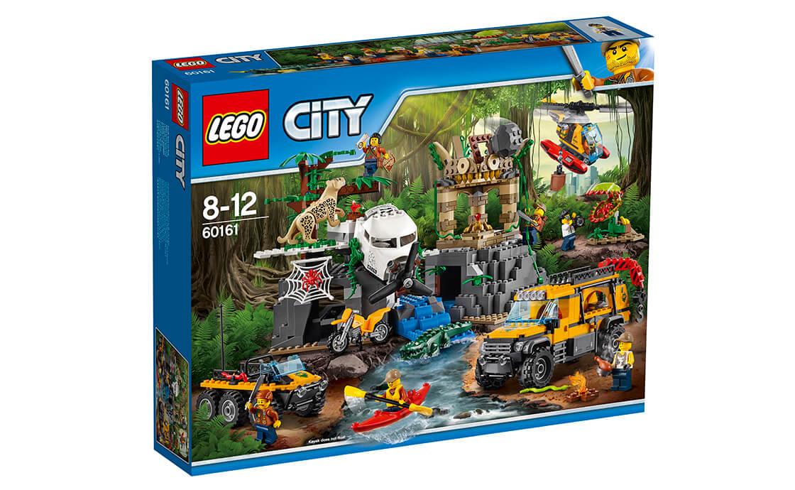 LEGO City База дослідників джунглів (60161)
