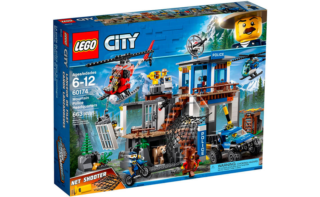 LEGO City Штаб-квартира гірської поліції (60174)
