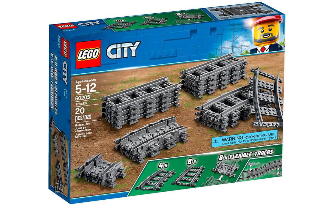 LEGO City Рельсы (60205)