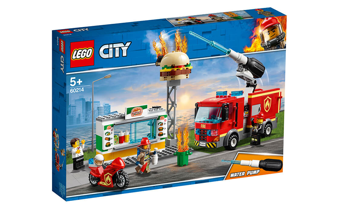 LEGO City Пожар в бургер-баре (60214)