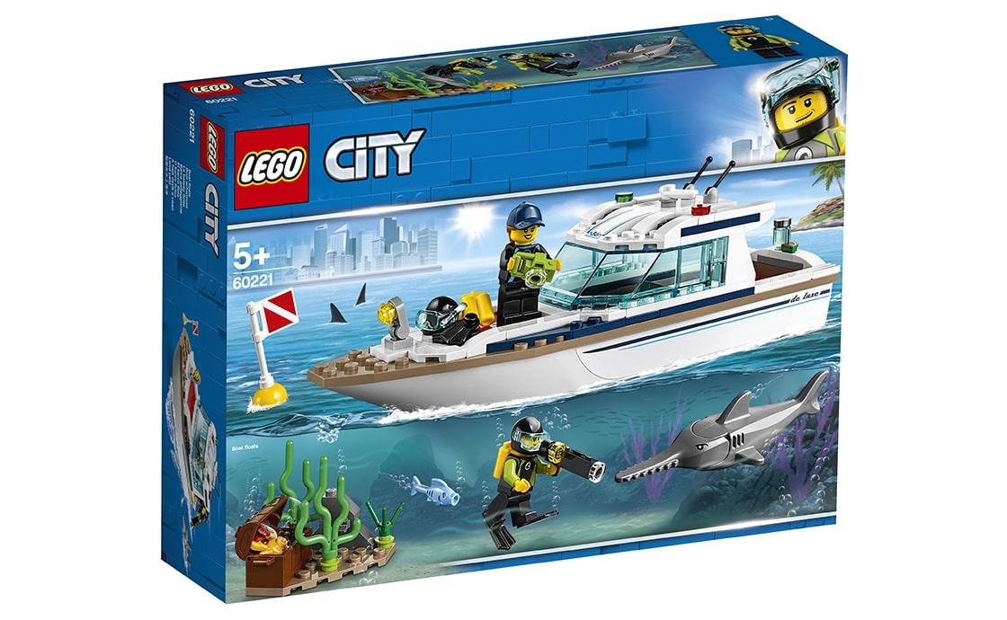 LEGO City Яхта для дайвінгу (60221)