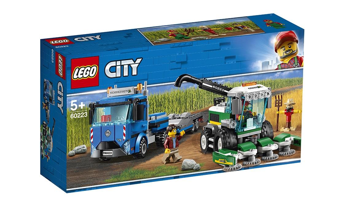 LEGO City Кормоуборочный комбайн (60223)