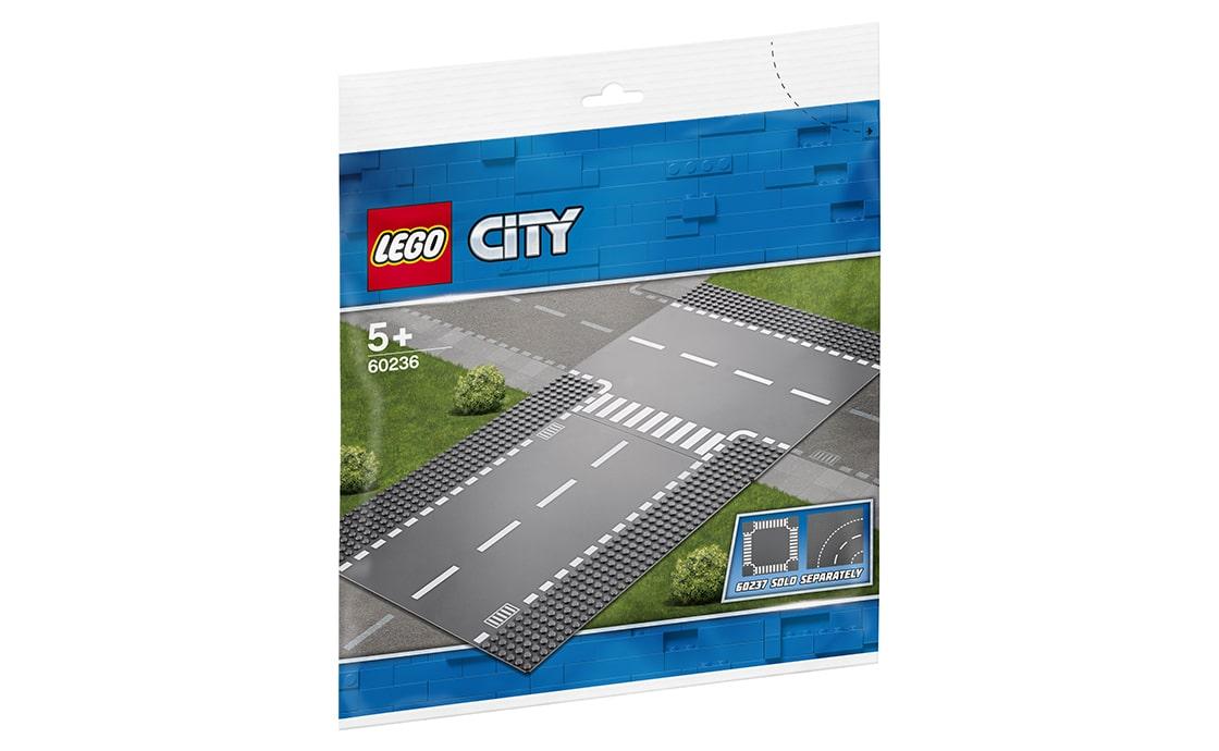 LEGO City Боковая и прямая дорога (60236)