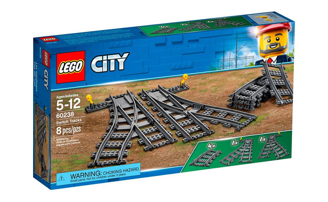 LEGO City Рейки і стрілки (60238)