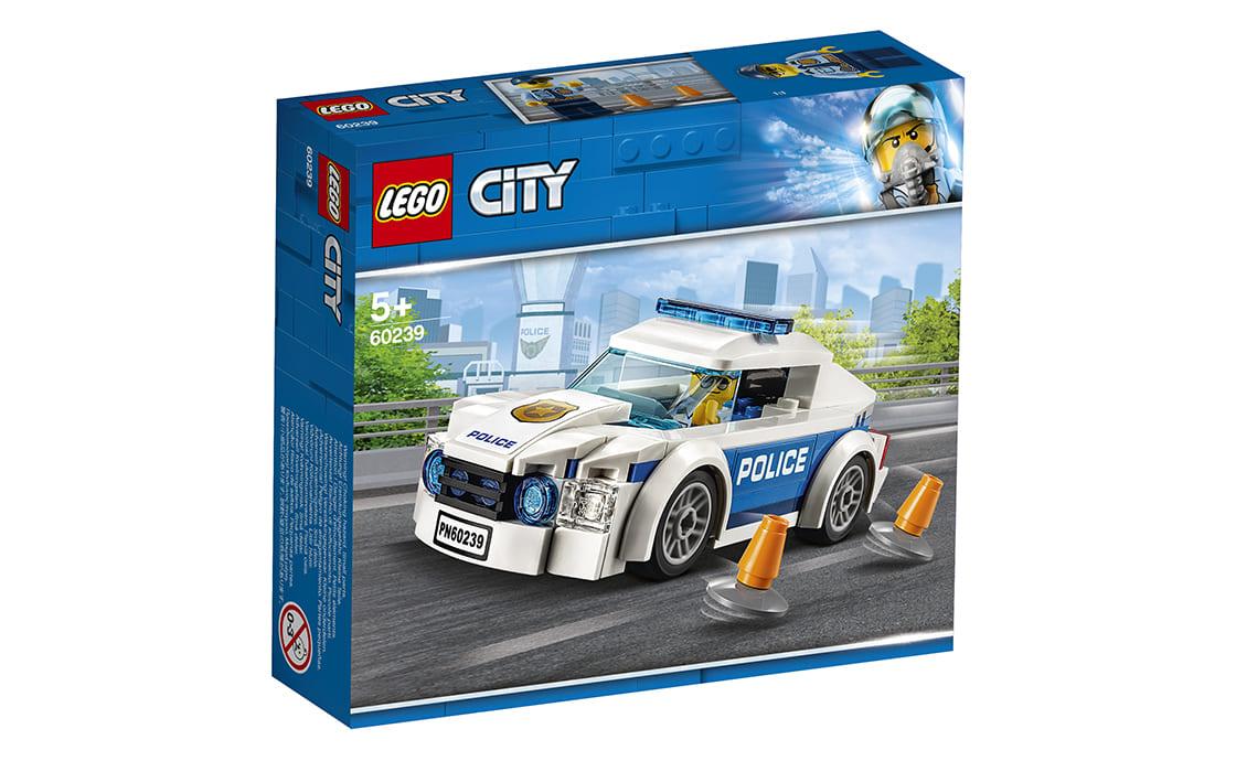 LEGO City Полицейское патрульное авто (60239)