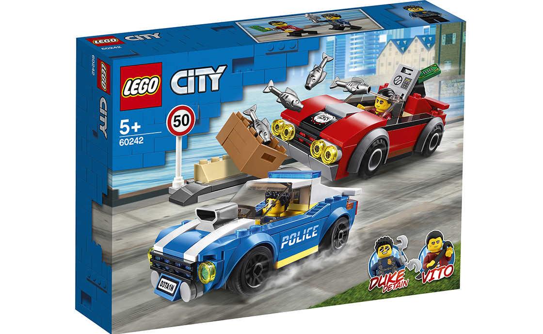 LEGO City Арешт на шосе (60242)