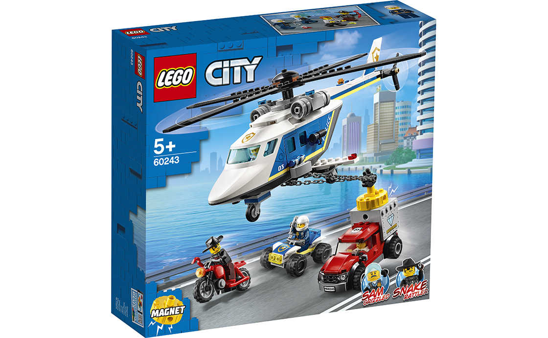 LEGO City Погоня на поліцейському вертольоті (60243)