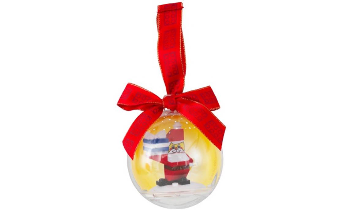 LEGO Accessories Ёлочный шар с Дедом Морозом (6047303)