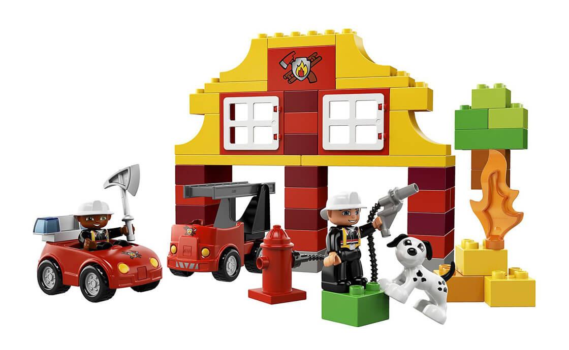 LEGO DUPLO Моя первая пожарная станция Duplo (6138)