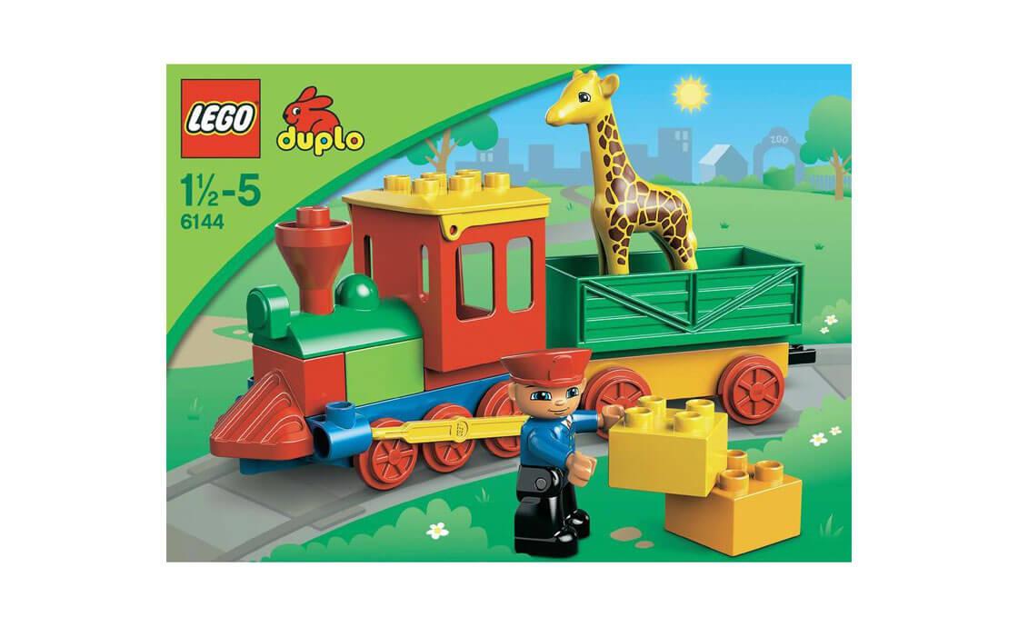 LEGO DUPLO Поезд-зоопарк Duplo (6144)