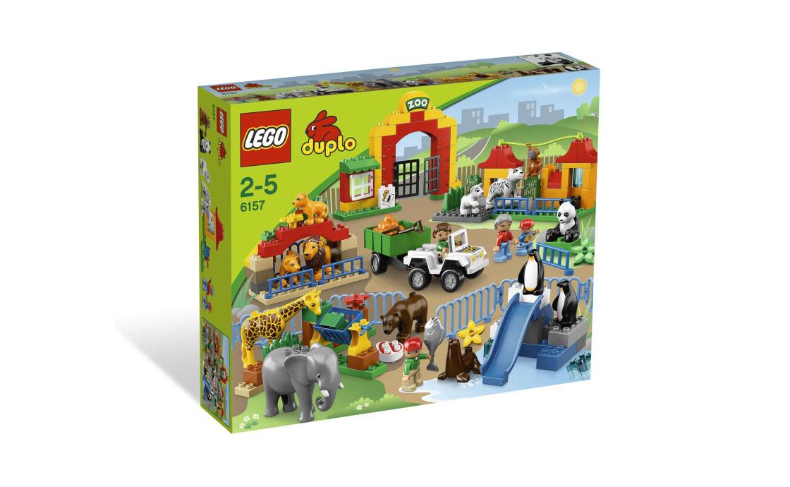 LEGO DUPLO Большой зоопарк Duplo (6157)