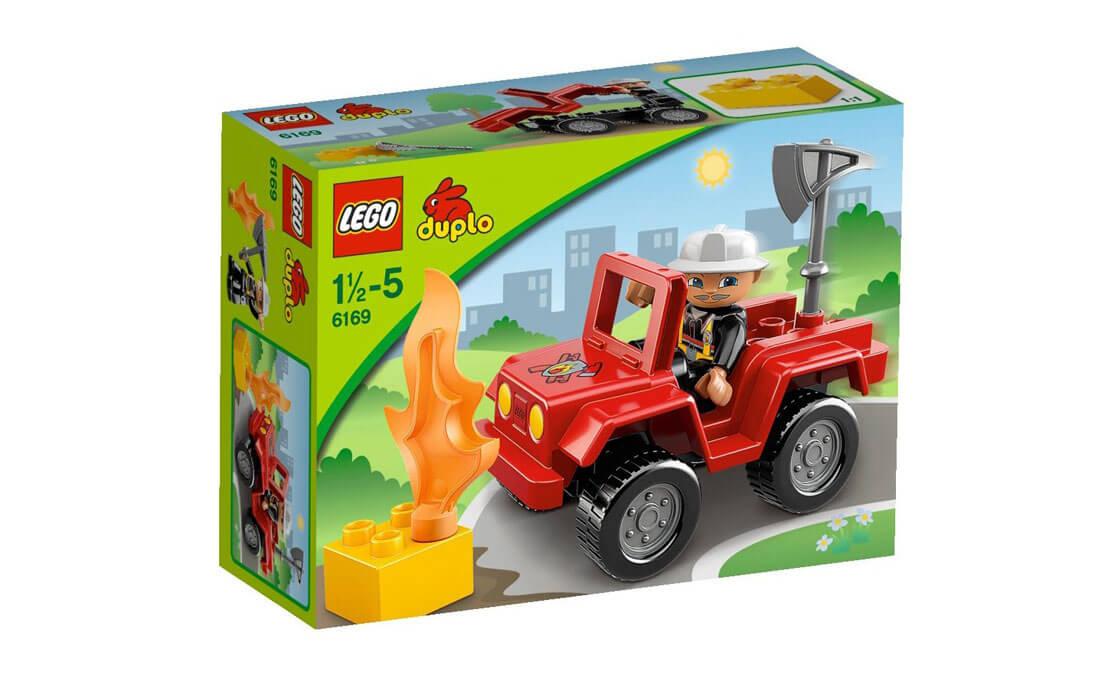 LEGO DUPLO Начальник пожарной охраны Duplo (6169)