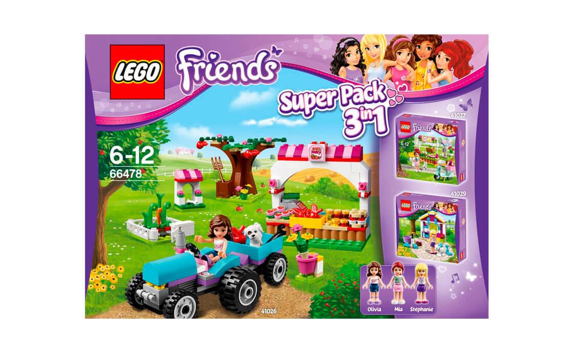 """LEGO Friends Friends Super-pack (Супер-пак """"3 в 1"""") (66478)"""