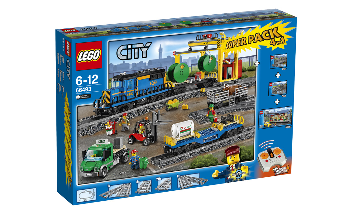 LEGO City Залізничний Супер-пак (66493)