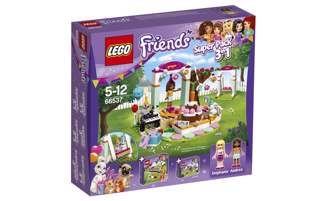 LEGO Friends Френдс 3-в-1 Супер-Пак (66537)