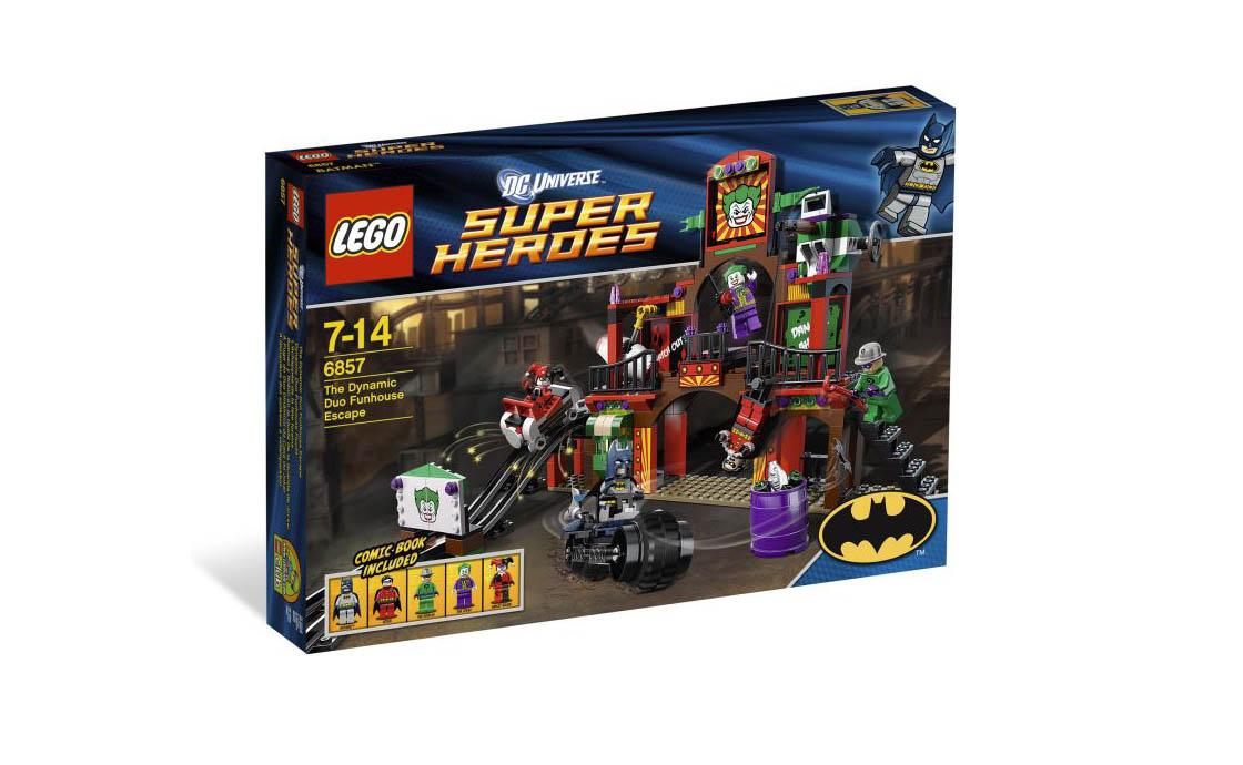 LEGO Super Heroes Побег из комнаты смеха (6857)