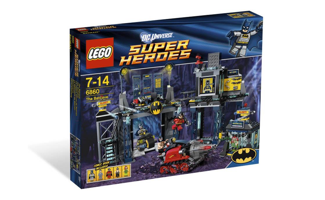 LEGO Super Heroes Пещера Бэтмэна (6860)