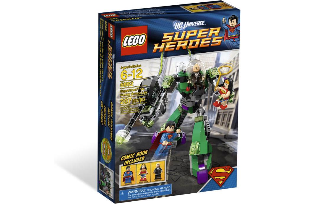 LEGO Super Heroes Супермен против робота Лекса (6862)