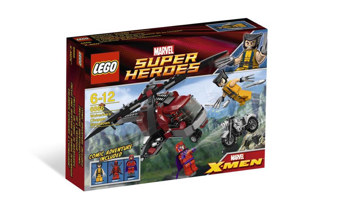 LEGO Super Heroes Вертолет росомахи (6866)