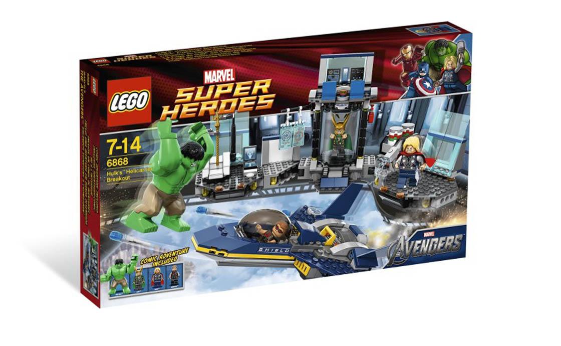 LEGO Super Heroes Побег Халка (6868)