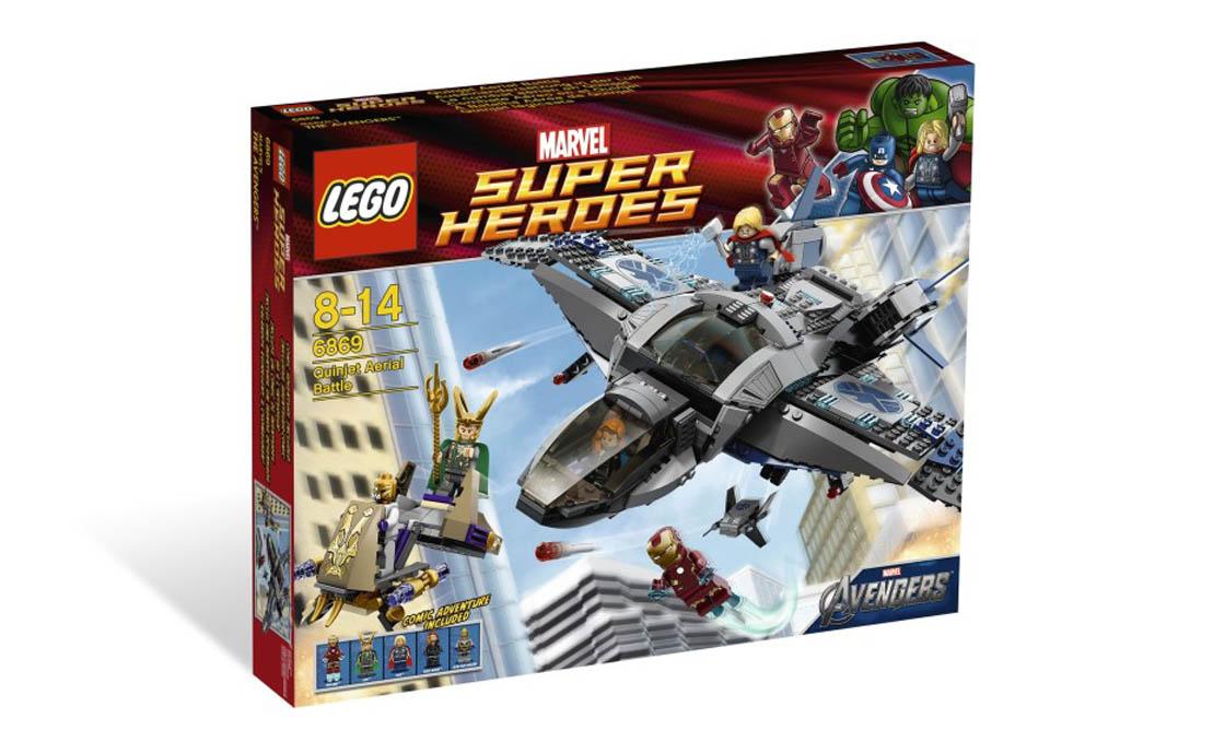 LEGO Super Heroes Воздушное сражение (6869)