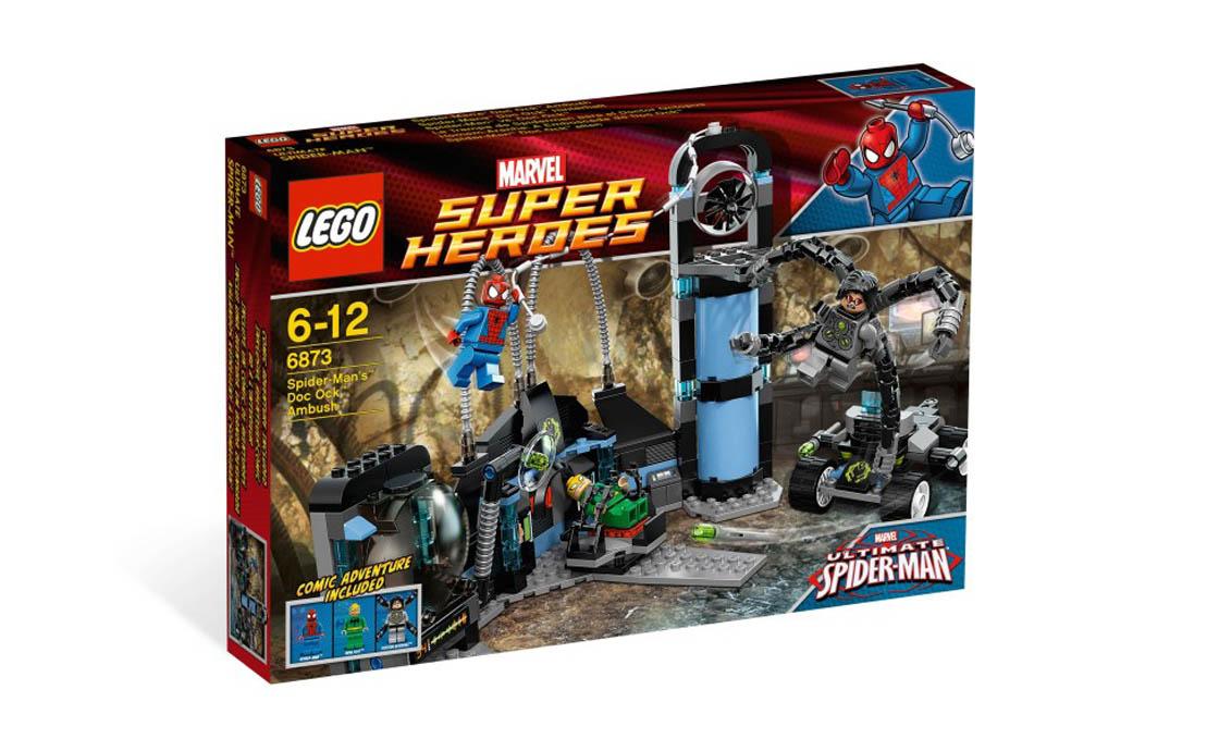 LEGO Super Heroes Человек-паук против Доктора Осьминога (6873)