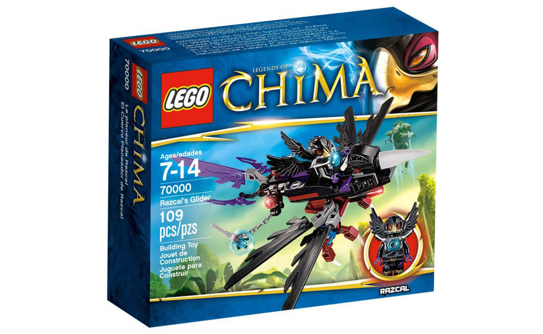 LEGO Legends Of Chima Планер Ворона Разкала (70000)