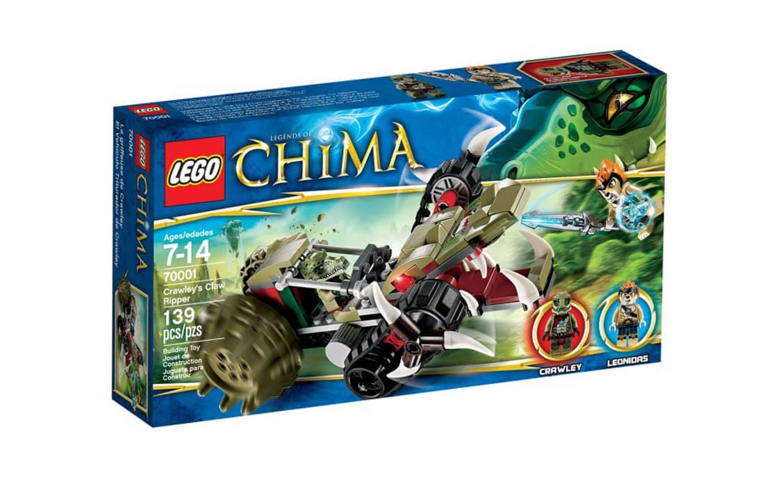 LEGO Legends Of Chima Потрошитель Кроули (70001)