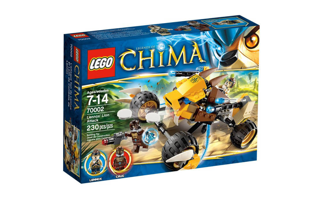 LEGO Legends Of Chima Лев Леннокс атакует (70002)