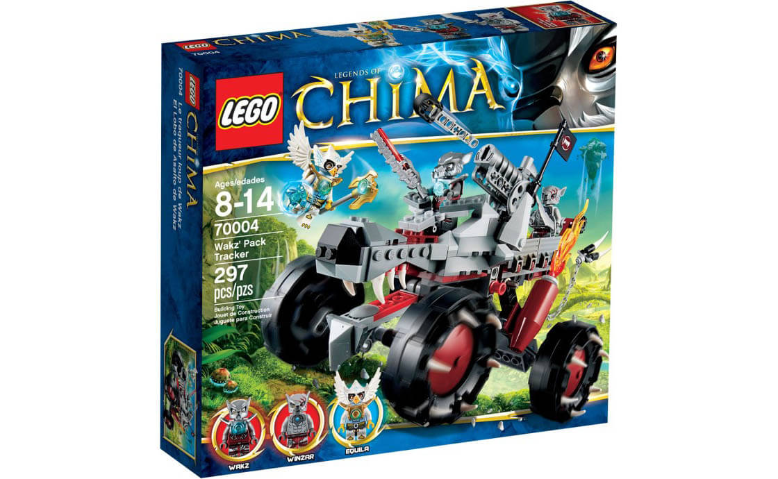 LEGO Legends Of Chima Разведчик Вакза (70004)