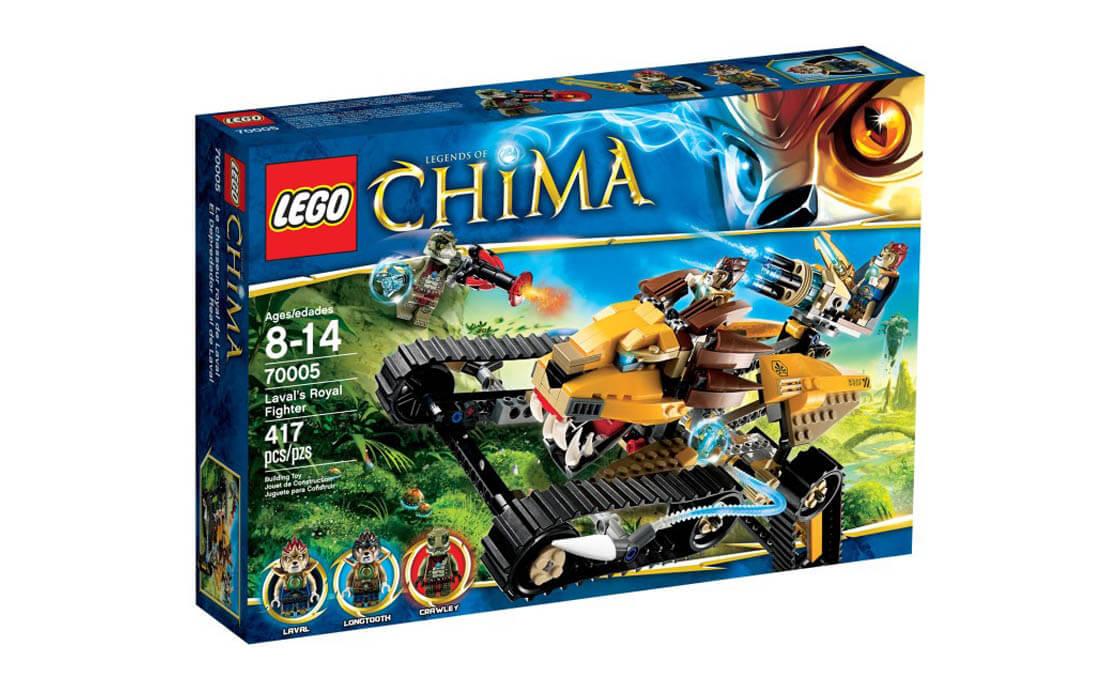 LEGO Legends Of Chima Королевский истребитель Лавала (70005)