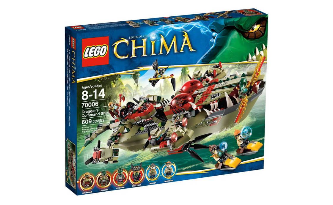 LEGO Legends Of Chima Атакующий крокодил (70006)