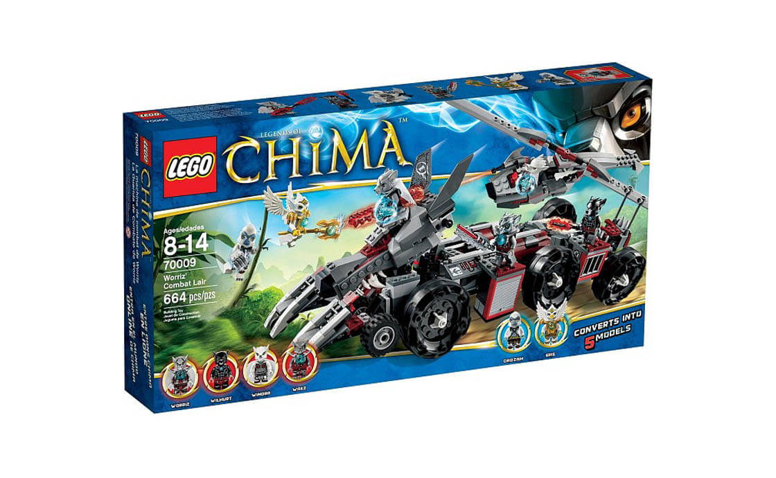 LEGO Legends Of Chima Бронетранспортёр Воррица (70009)