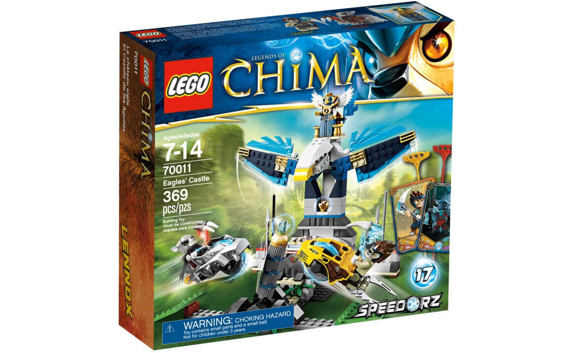 LEGO Legends Of Chima Замок клана Орлов (70011)